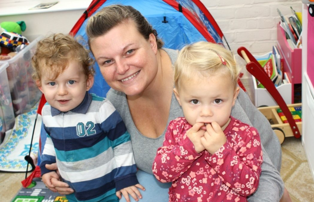 MUM LAUNCHES BUSINESS THANKS TO EDBS