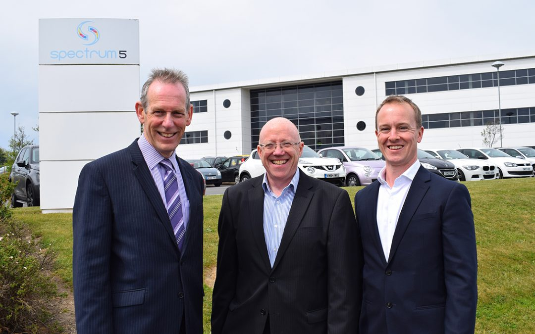 SPECTRUM ANNOUNCES NORTHUMBRIAN WATER AS LATEST TENANT