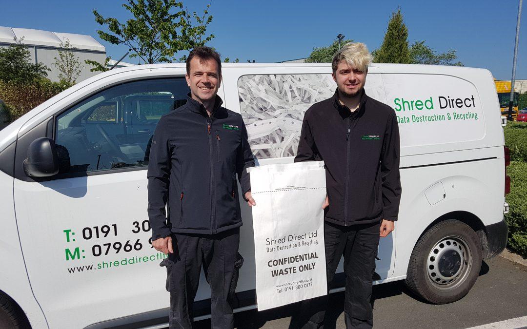 SHRED DIRECT DITCHES THE PLASTIC TO MARK FIFTH BIRTDHAY