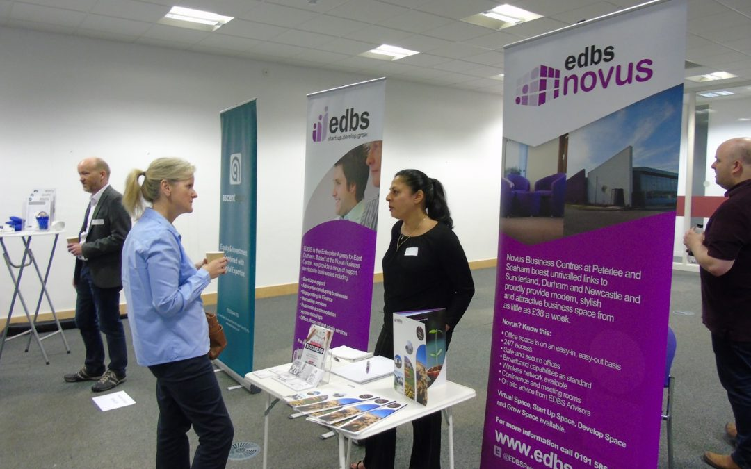 EDBS AMONG EXHIBITORS AT FUNDING AND BUSINESS SUPPORT EVENT