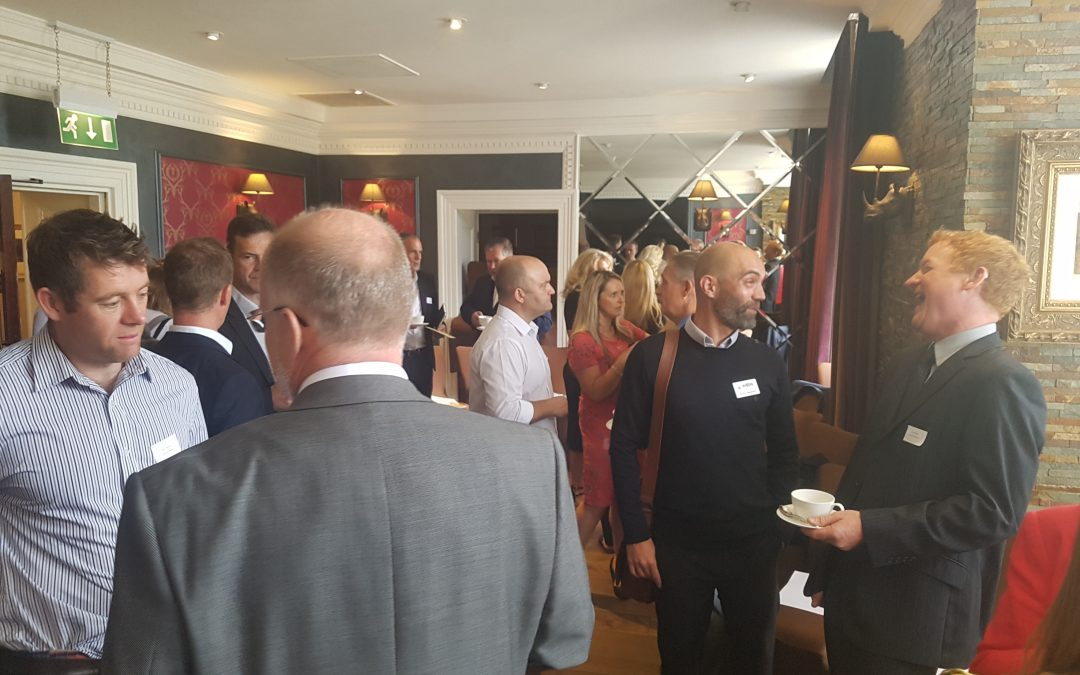 ADVISOR SIMON ATTENDS NETWORKING EVENT TO SHOWCASE EDBS SUPPORT
