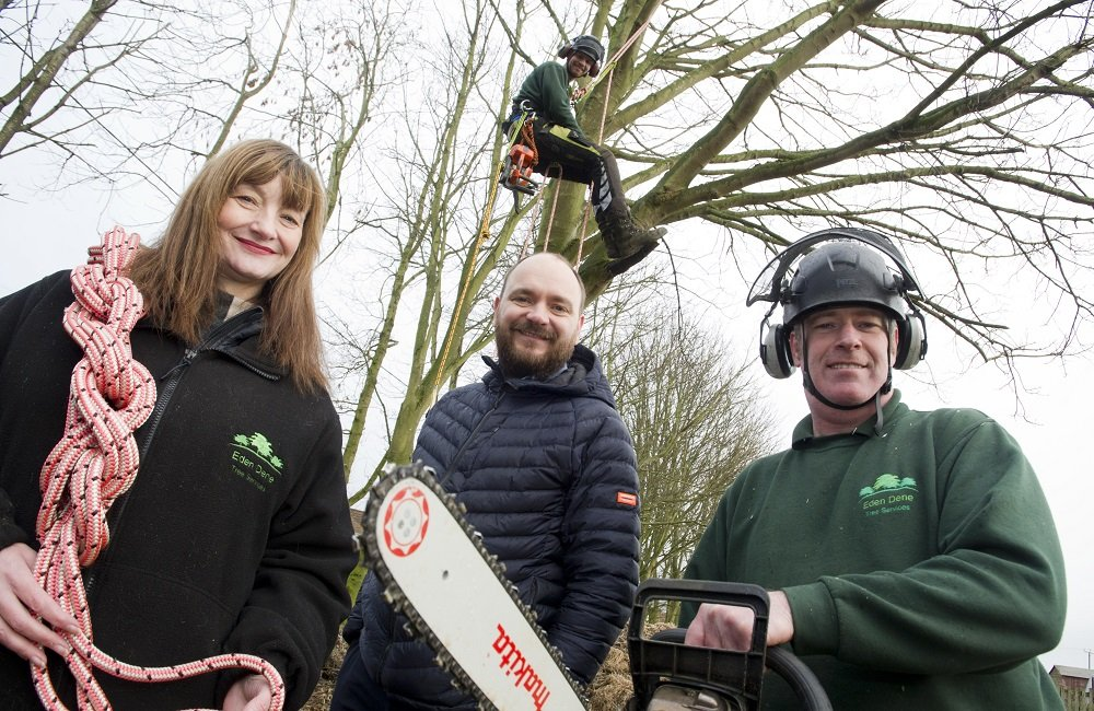 TREEMENDOUS TRAINING HELPS COMPANY WIN WORK