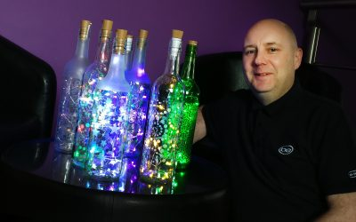 TENANT JIM SEES THE LIGHT TO LAUNCH NEW BUSINESS