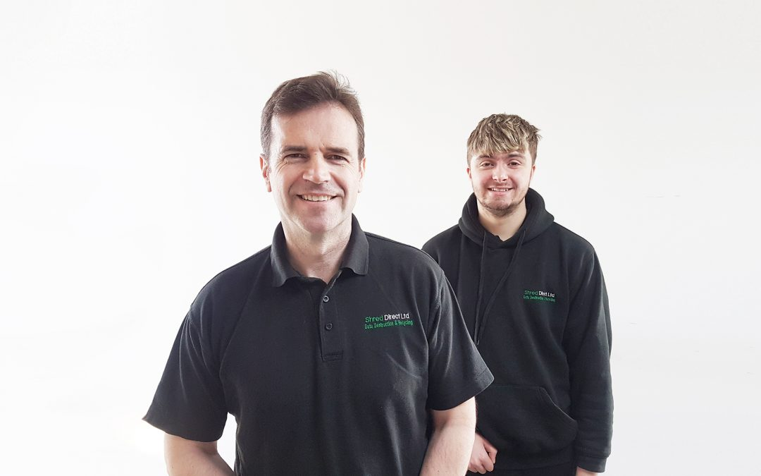 TENANT NEWS: CALLUM SECURES PERMANENT JOB WITH SHRED DIRECT