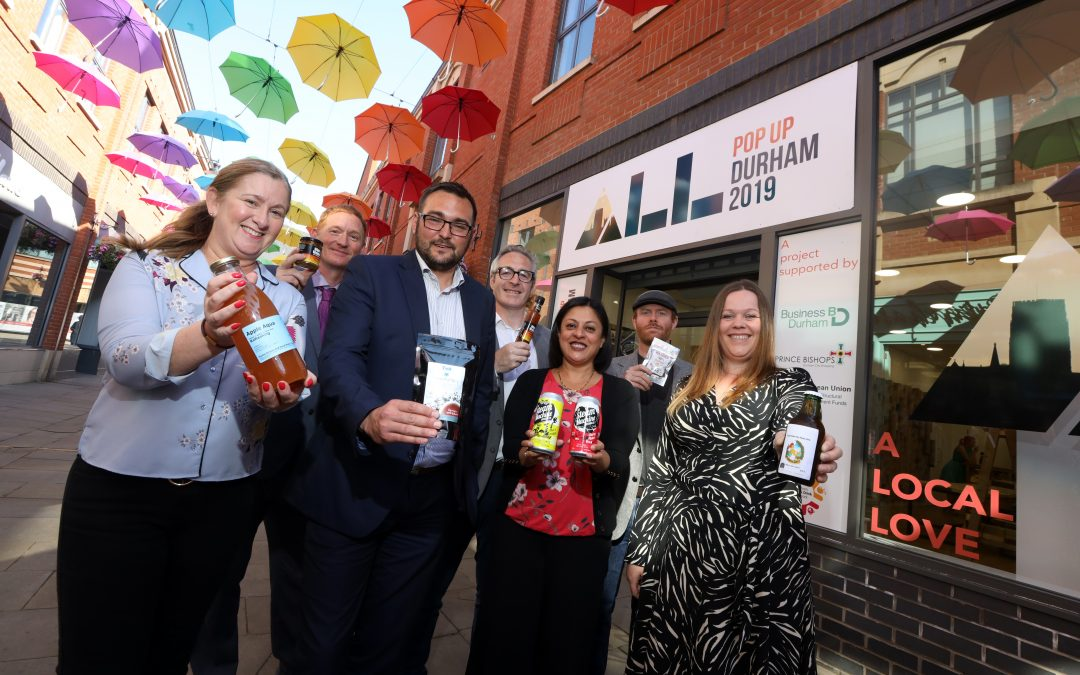 FOOD AND DRINK POP-UP INITIATIVE LAUNCHES IN COUNTY DURHAM