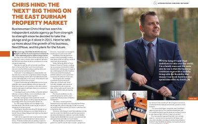 NEXT2MOVE FEATURES IN ISSUE THREE OF EAST DURHAM BUSINESS MAGAZINE